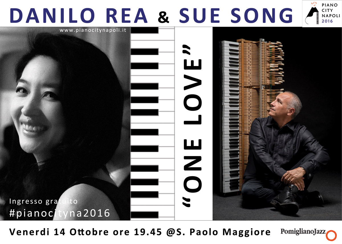 One Love - Danilo Rea Sue Sons - Piano City Napoli 2016