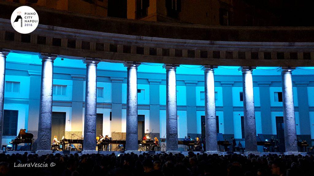Inaugurazione Piano City Napoli 2016 a Piazza Plebiscito