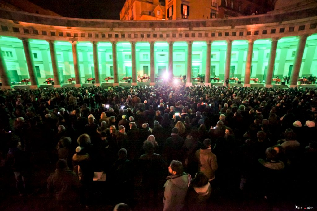 Inaugurazione Piano City Napoli 2018 a Piazza Plebiscito