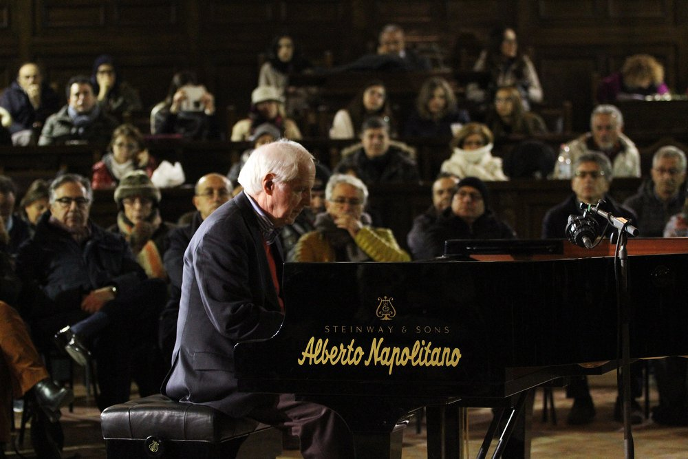 Franco D'Andrea - Sala dei Baroni del Maschio Angioino - Piano City Napoli 2018