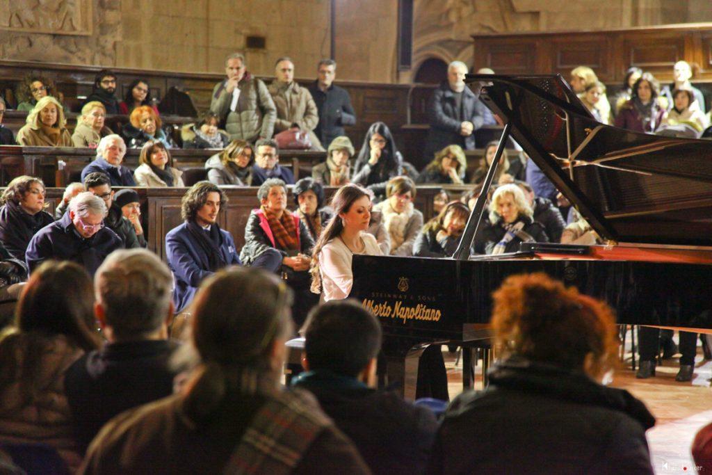 Mariangela Vacatello - Sala dei Baroni del Maschio Angioino - Piano City Napoli 2018